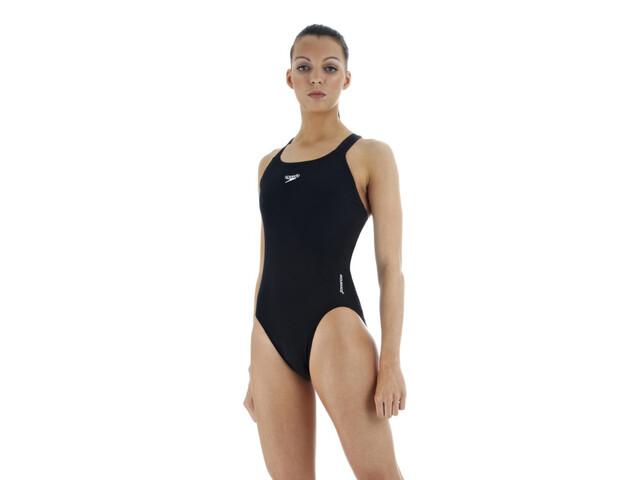 Speedo Essential Medalist naisten uimapuku, musta